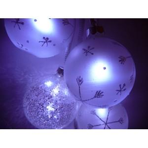 Suspension Boules lumineuses