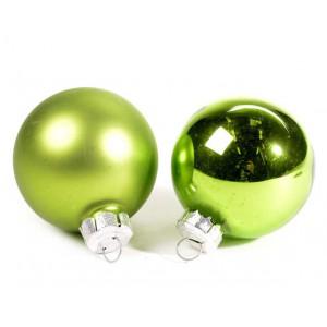 Boule en verre verte 6cm