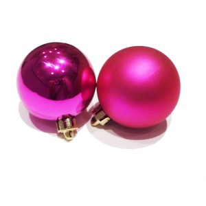 boule de noel fushia chinasafetybelts. Black Bedroom Furniture Sets. Home Design Ideas