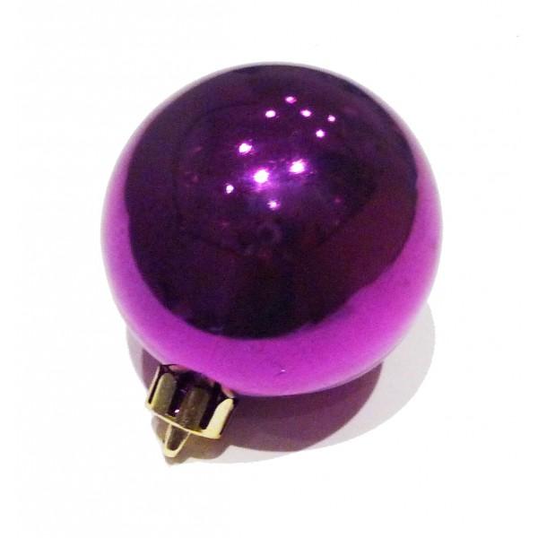 Boule violette 6cm - Tous les jours Noël